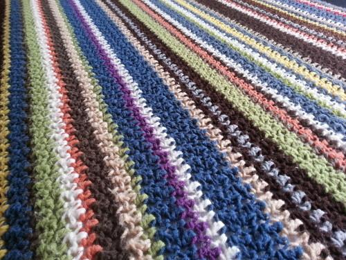 Crochet Blanket Patterns 3 Colors