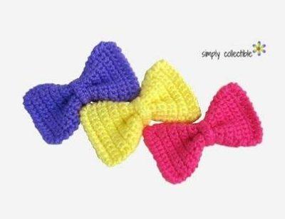 Sassy Bow Free crochet pattern
