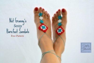 Not Granny's Sassy Barefoot Sandals