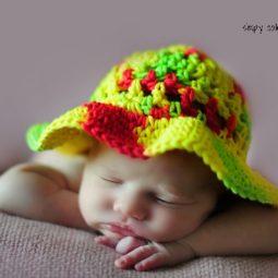 "Coraline's Sun Hat free crochet pattern for Child (20"")"