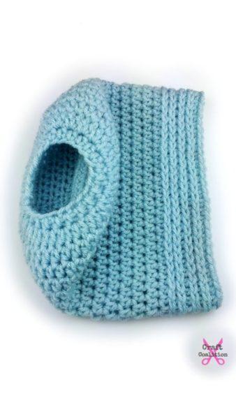Simplicity Bun Hat free crochet pattern