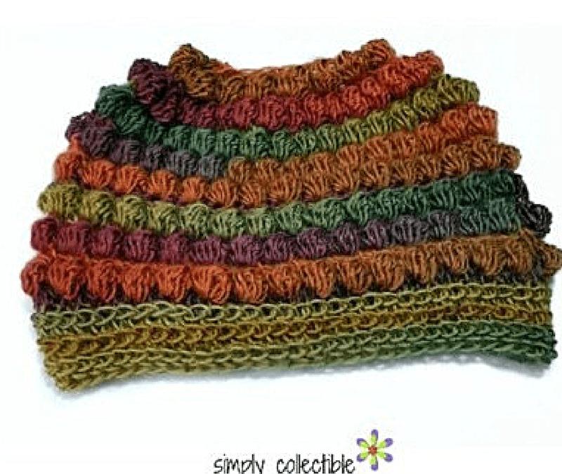 Crochet Messy Bun Hat pattern – Bibbity Bobbity 3-in-1 plus Short n Sassy 3-in-1 (includes full beanie)