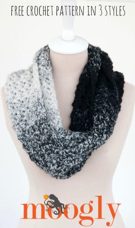 15 Lovely One Skein Scarf & Wrap crochet patterns