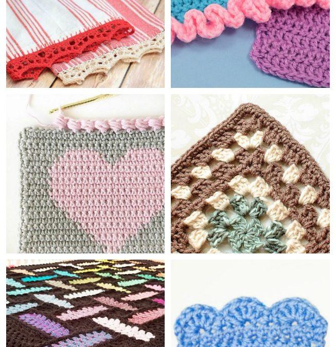 15 Easy Crochet Edging Ideas