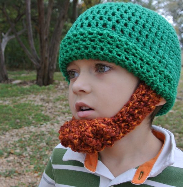 Irish Beard Hat