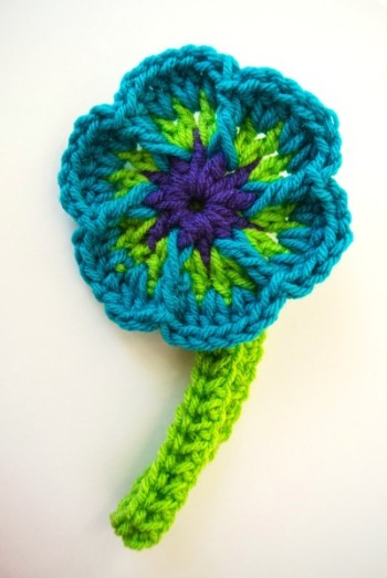 Easy Crochet Flower Headband Separate From The Flower Simply