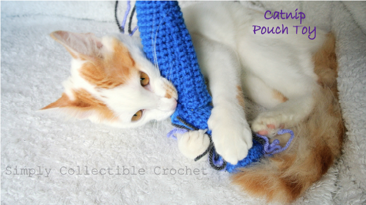 Catnip Pouch Cat Toy | FREE Pattern by Simply Collectible