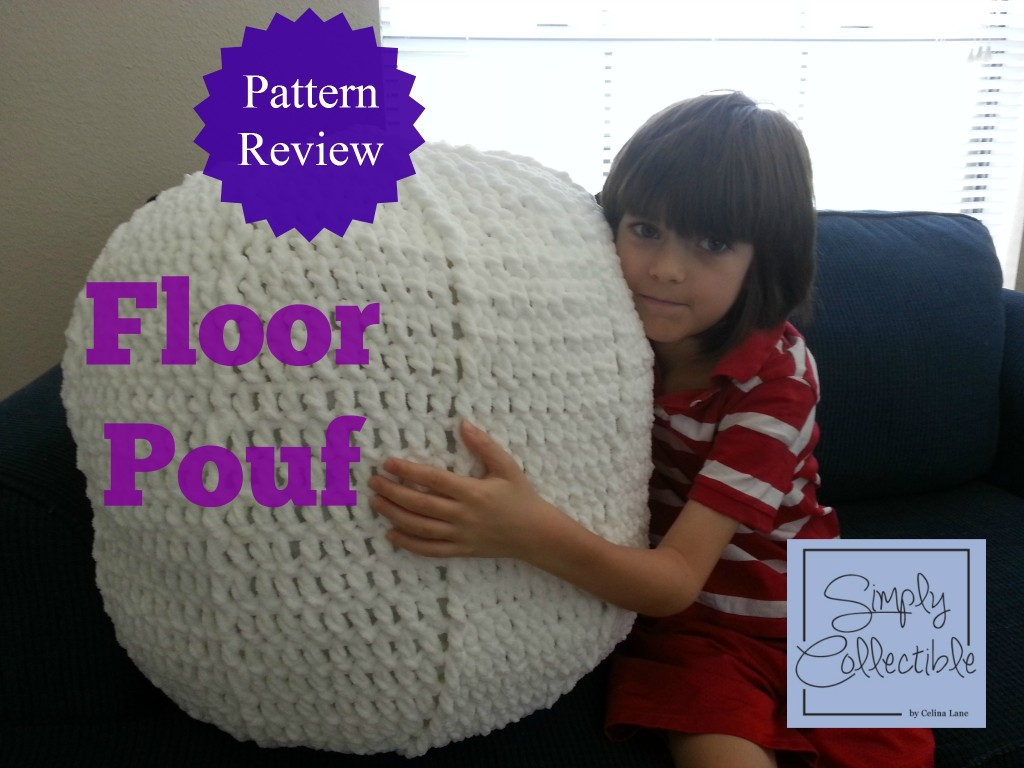 Completed Pouf - Review by Simply Collectible