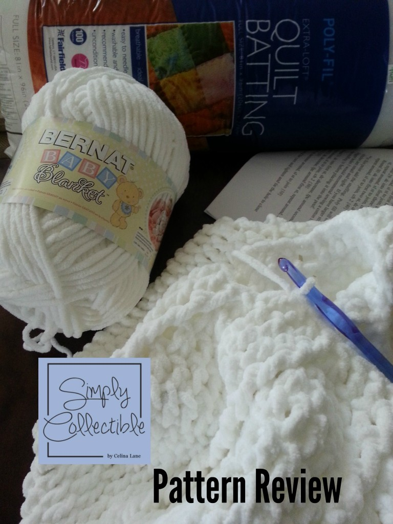 Materials for the Pouf - Review by Simply Collectible