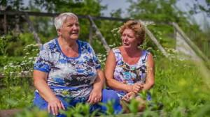 stock-footage-older-women-female-talking-outdoors