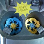 Flower Cup Holder Liners