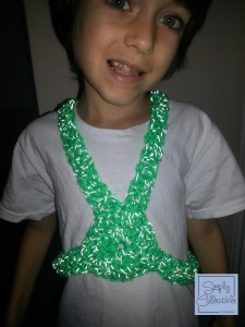 Reflective Safety Harness by SimplyCollectibleCrochet.com | Custom Orders are Available |Free Crochet Pattern is Available