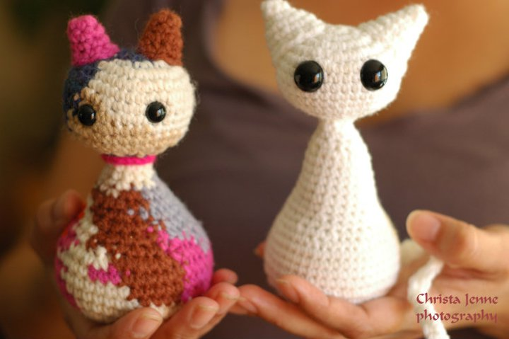 Amigurumi Kittens by Simply Collectible | Pattern is on Ravelry