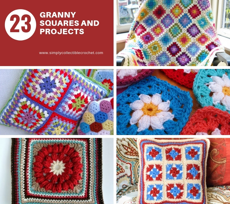 23 Granny Squares and Projects