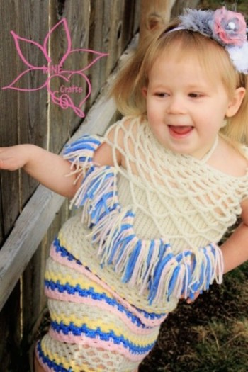 24 patterns in this Crochet Dress Roundup compiled by SimplyCollectibleCrochet.com | Ruffles