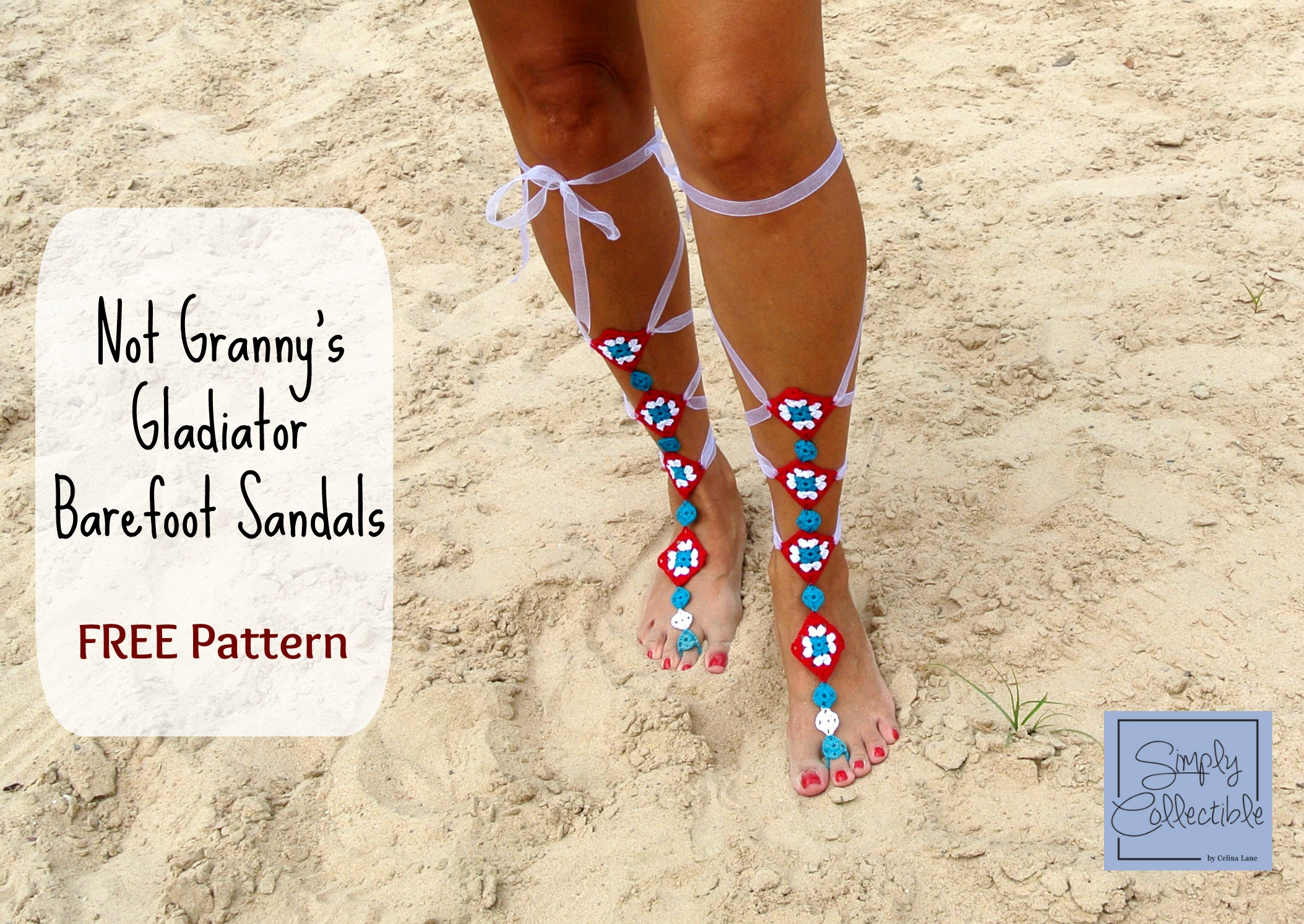 Not Granny S Gladiator Barefoot Sandals