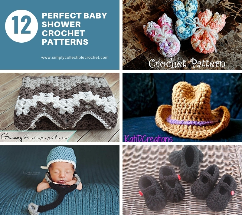 12 Perfect Baby Shower Crochet Patterns