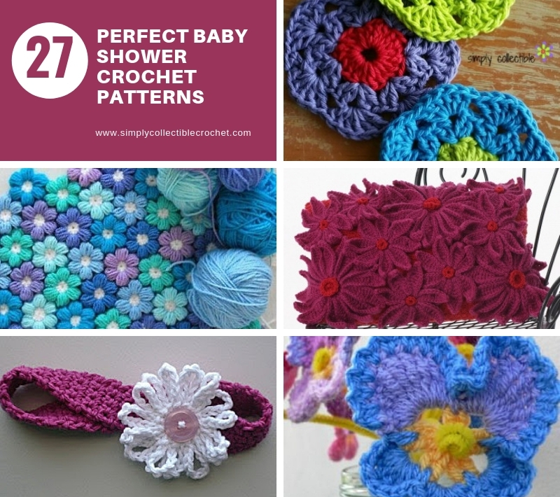 27 Crochet FLOWER Patterns – Floral Fixation