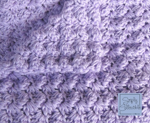 My Favorite #Crochet Pattern for a Baby Blanket | SimplyCollectibleCrochet.com