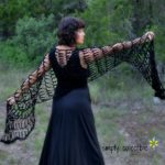 Penelope's Flirty Shawl - free crochet pattern by Simply Collectible