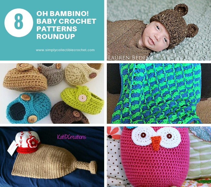 Oh Bambino! 8 Baby Crochet Patterns Roundup
