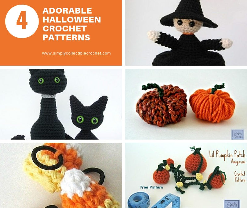 Halloween crochet patterns bundle amigurumi Halloween | Etsy | 675x800
