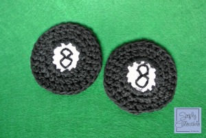 8-ball Motif Free #Crochet Pattern by Simply Collectible