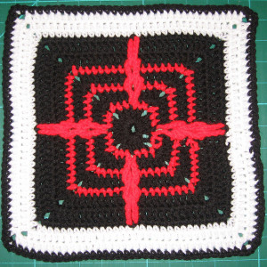 Chained Compass Motif with 9 in. and 12 in.