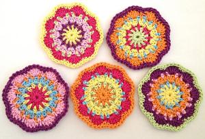 Elealinda #crochet Flower Motif