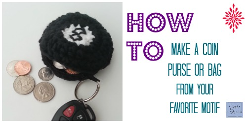 How to Make a Coin Purse from your Favorite Motif