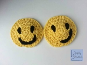 Smiley Cup Motif #crochet pattern by Simply Collectible