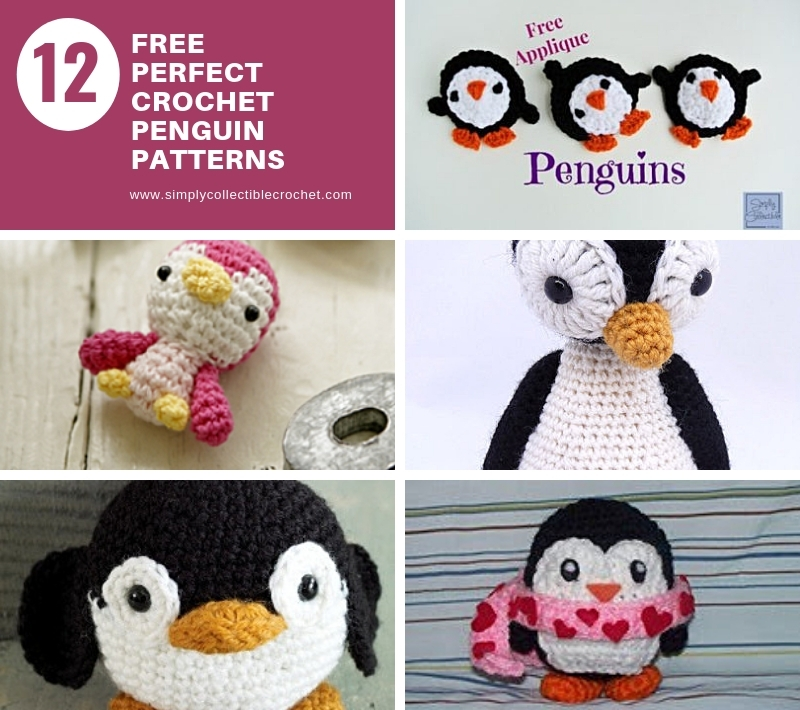 12 Free Perfect Crochet Penguin Patterns