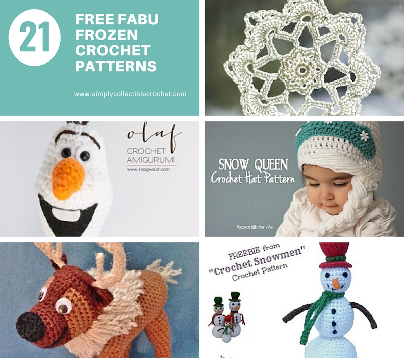 21 Free Fabu Frozen Crochet Patterns