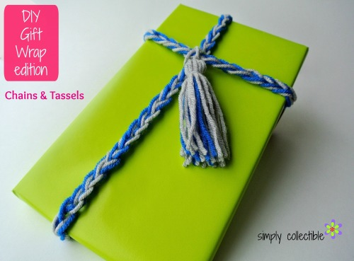 DIY Gift Wrap edition - Chains & Tassels by Simply Collectible