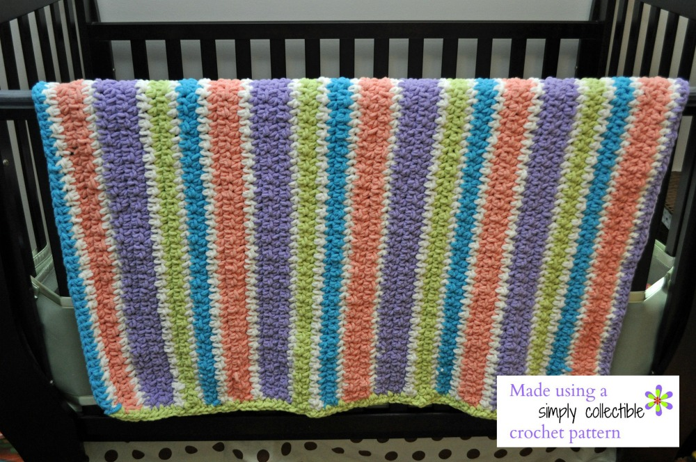 Kathi from Mount Prospect, IL - Stash Buster Blanket pattern from Simply Collectible