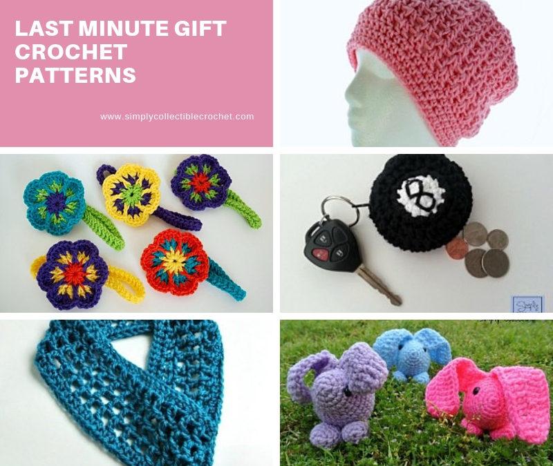 Last Minute Gift Crochet Patterns