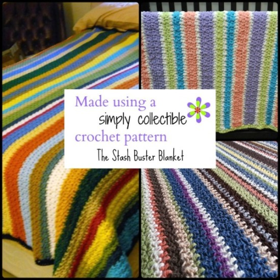 The Free Stash Buster Blanket Crochet Pattern from Simply Collectible