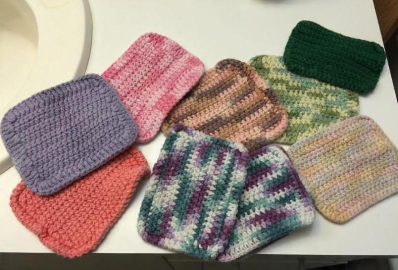 Jamie Bowe Dunson washcloth tips | Simply Collectible Crochet