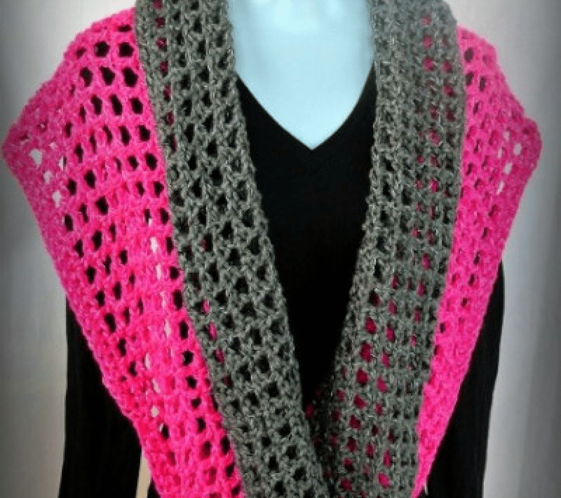 Crochet Cowl Pattern - Coraline in San Francisco Cowl Wrap