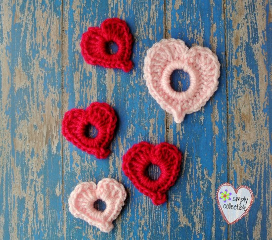 Precious Hearts free #crochet pattern by Simply Collectible