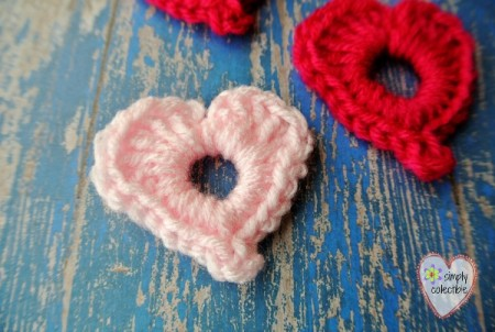 Precious Lil Hearts free #crochet pattern by Simply Collectible