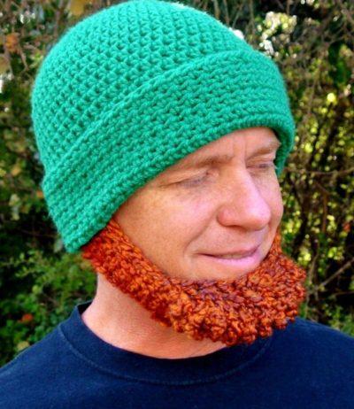 St Patrick's Day Beard Hats