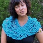 Penelope's Flirty Scarf - free crochet pattern by Simply Collectible 2