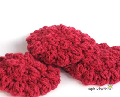 Round Cloths or Reusable Cotton Balls, Free #crochet Pattern - SimplyCollectibleCrochet.com 4