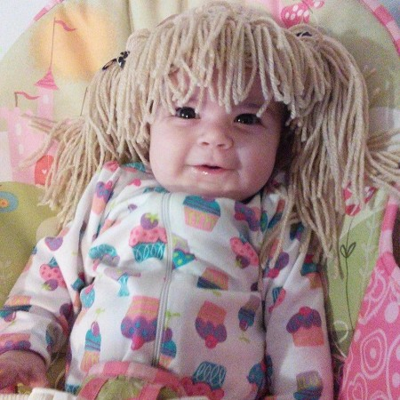 Customer Appreciation photo from Lisa Hurley, Bangs & pigtails wig hat | Simply Collectible Crochet