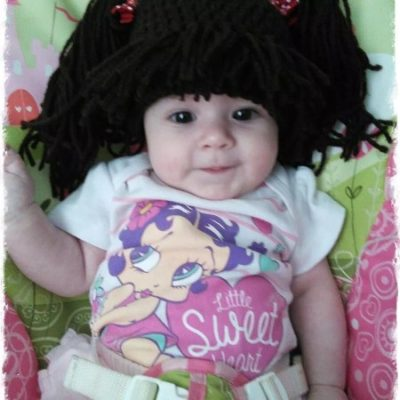 Customer Appreciation photo from Lisa Hurley, Bangs & pigtails wig hat   Simply Collectible Crochet