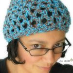 Penelope's Beach Beanie in cotton - free crochet pattern by Simply Collectible