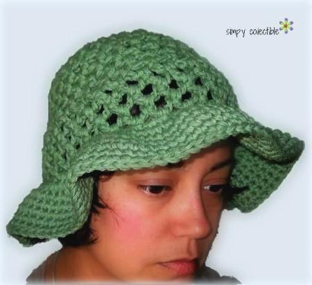 10 Pretty Sun Hat free #crochet patterns | SimplyCollectibleCrochet.com