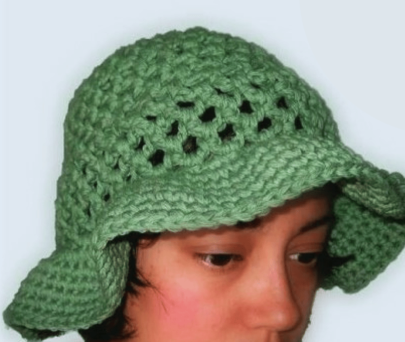 Coraline's Sun Hat free crochet pattern for Women