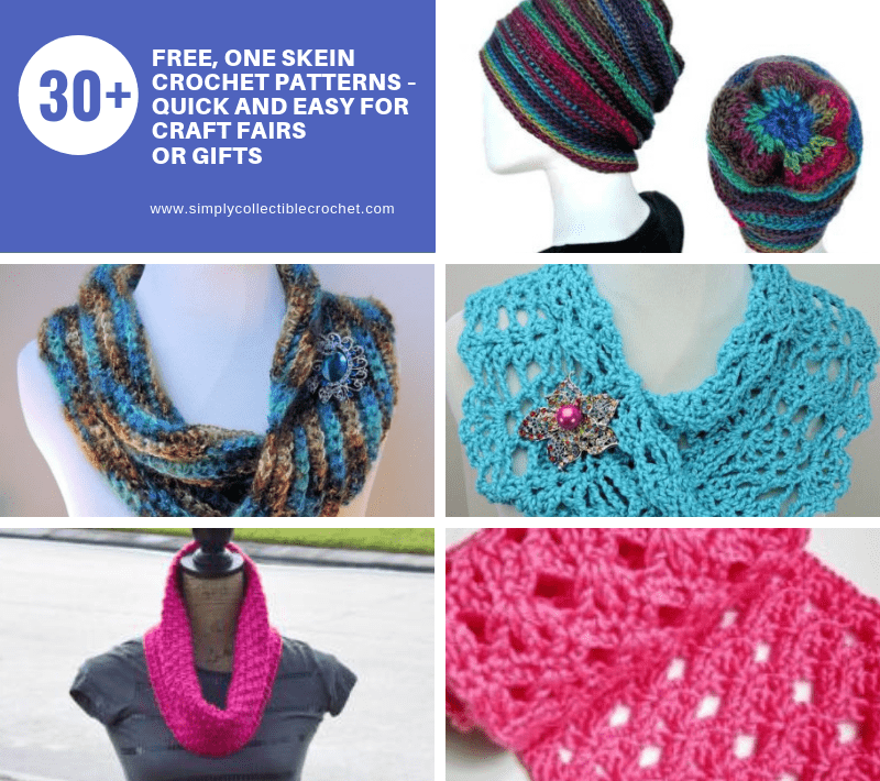 30 Free One Skein Crochet Patterns Quick And Easy For Craft